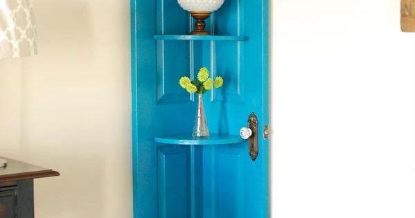 Riutilizzare vecchie porte in stile shabby chic angoliera - Porte stile shabby chic ...