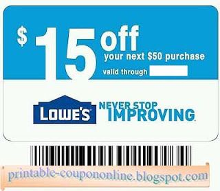 Free Printable Lowes Coupons In 2020 Lowes Coupon Lowes Printable Coupon Coupons