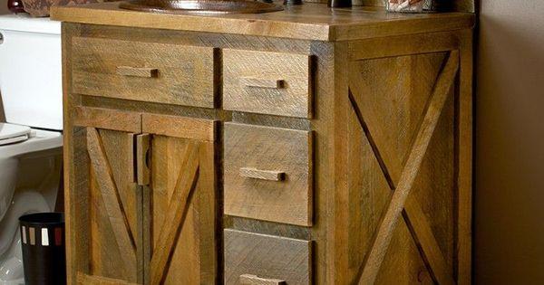 Weathered wood bathroom vanity 24 72 wood vanity for 24 reclaimed wood vanity