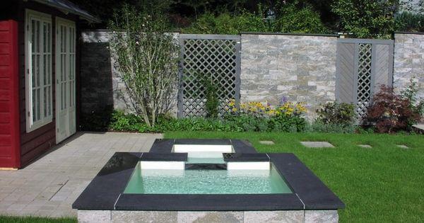 wasser im garten | modern decor | pinterest | modern, Gartenarbeit ideen