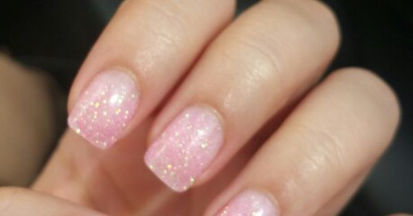 Dipping powder on my natural nails. Im in love   nails ...