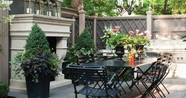 Idee deco petit jardin et meubles d 39 exterieur modernes id es de jardin - Idee deco petit jardin ...