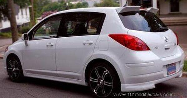 Modified Nissan Versa Tiida Latio Hatchback Rear