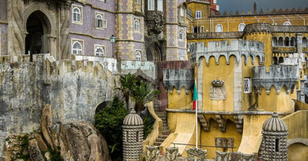 Pena Palace, Sintra. Lisbon, Portugal