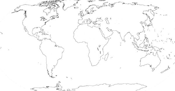 fillable map of the world