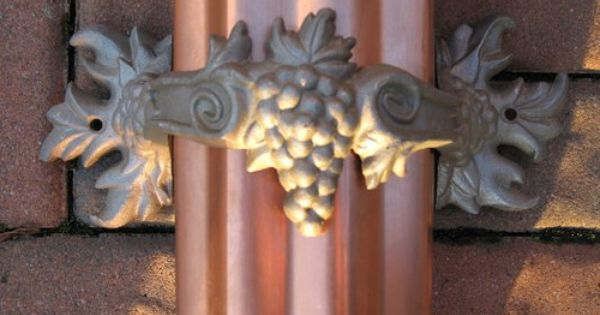 Grape Downspout Bracket By Tritongutters15 Decorative