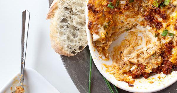 25 Cheesy Dips That Will Make You Swoon, cheesy chorizo dip