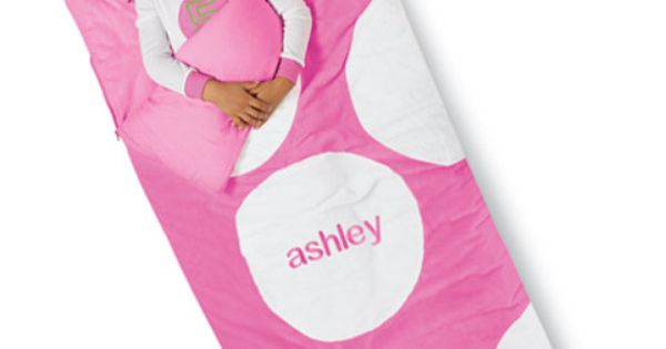 Monogrammed Sleeping Bags For Girls Personalized Jumbo