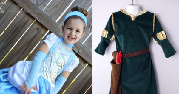 Disney Princess Patterns - Kids Costumes