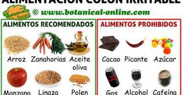 Dieta para colon o intestino irritable alimentos prohibidos y recomendados recetas y tips de - Hemorroides alimentos prohibidos ...