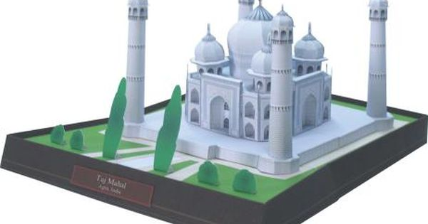 Taj mahal india t l charger gratuitement imprimer for Maquette cuisine 3d