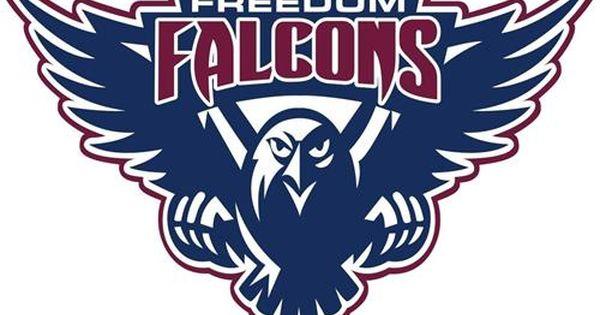 Falcon Team Mascot Logo Falcon Logo Team Mascots Logos