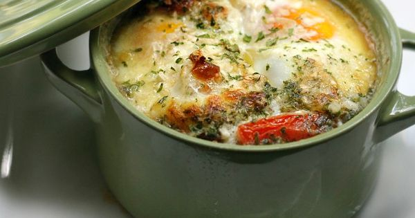 Individual Baked Basque Eggs | Recipe | Tasty kitchen ...