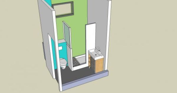 salle de bain petite surface 2m2 recherche google buanderie pinterest studio small. Black Bedroom Furniture Sets. Home Design Ideas