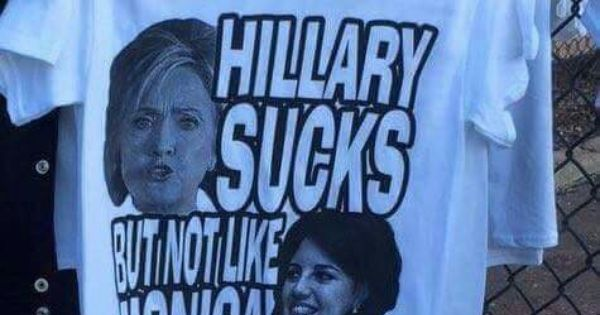 Hillary sucks but not like Monica | WHAT A DUMB DEMOCRAT ...