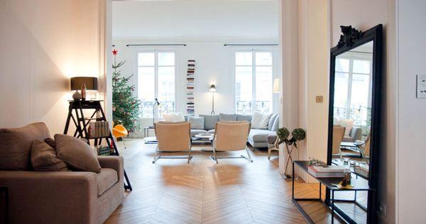 ... sur le salon  Idées déco  Pinterest  Loft, Interieur and Salons