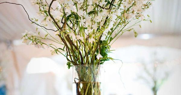 Easy eco friendly wedding flower ideas branch