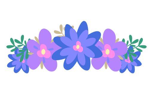 Violet Blue Flower Crown Ad Affiliate Aff Blue Flower Crown Violet Blue Flower Crown Crown Png Violet Flower