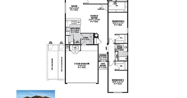 DR Horton Columbia Floor Plan