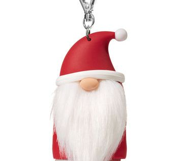 Santa Gnome Pocketbac Holder Bath And Body Works Bath And Body