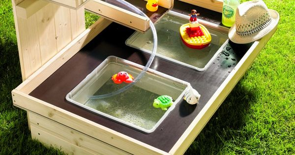 toom kreativwerkstatt wasserspielplatz pitsch patsch outdoor spielzeug ideen pinterest. Black Bedroom Furniture Sets. Home Design Ideas
