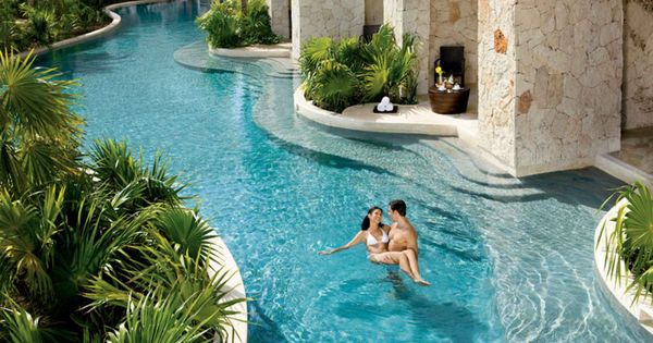 Secrets maroma beach riviera cancun t m v i google for Piscinas naturales mexico