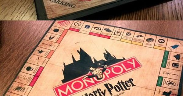Amazing Harry Potter Monopoly - probably the only way I'd play monopoly!