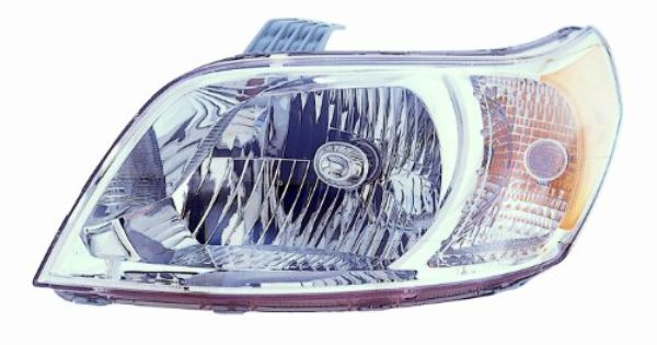 Amazon Com Depo 335 1153l Asn Chevrolet Aveo 5 Door Driver Side Composite Headlamp Assembly With Bulb And Socket Automotiv Chevrolet Aveo Headlamp Headlights