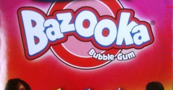 Free download of Bazooka Joe Bubble Gum vector graphics ...