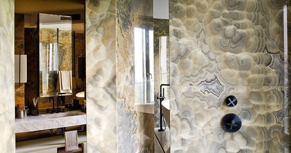 Interiors The Opus Hong Kong Show Apartment Onyx Marble