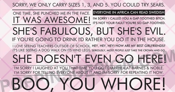 Mean Girls quotes one of my favorite movies