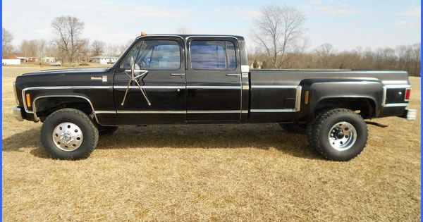 1980 chevy crew cab dually 4x4 square body trucks pinterest chevy and 4x4. Black Bedroom Furniture Sets. Home Design Ideas