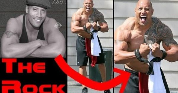 The Rock Before & After TRANSFORMATION - The Rock on ...
