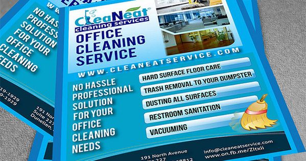 15 Cool Cleaning Service Flyers 7 Cleaning Service Flyer