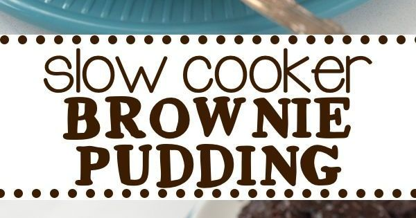 Slow Cooker Brownie Pudding | Recipe | Brownie Pudding, Puddings and ...