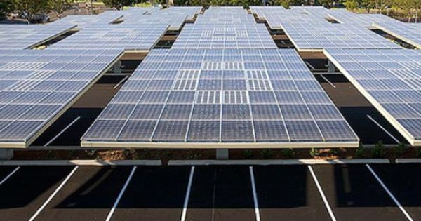Envision Plans To Install 2 300 Rotating Solar Tree Car Shelters In South Carolina Solar Panels Solar Solar Tree