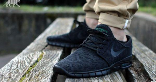 Nike Sb Janoski Max Black