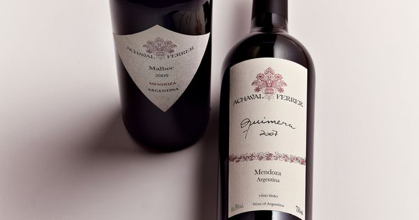 Malbec And Quimera Two Wines From Achaval Ferrer Produce In Mendoza Argentina