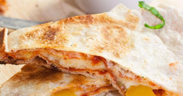 Pizzadillas | Recipe | Pizza, Quesadillas and Comment