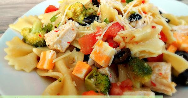 Bow tie pasta, Grilled chicken and Bow ties on Pinterest