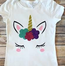 Image Result For Camisas De Unicornio Unicorn Birthday Outfit Unicorn Birthday Birthday Girl Shirt
