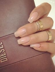 Follow Me Noraisabelle For More Oval Acrylic Nails Artificial Nails Fake Nails