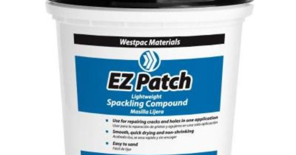 Westpac Materials 1 Qt E Z Patch Lightweight Spackling Spackling Patches Material