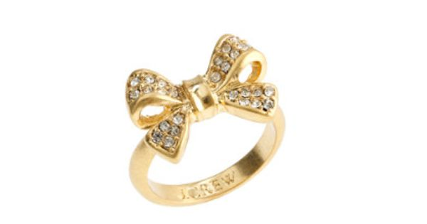 J. Crew Bow ring at ShopStyle