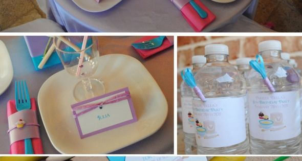 Cooks in the Kitchen – A Baking Themed 6th Birthday Party