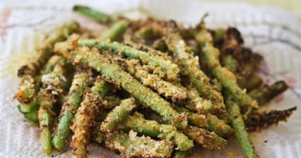 Yummy fried green beans