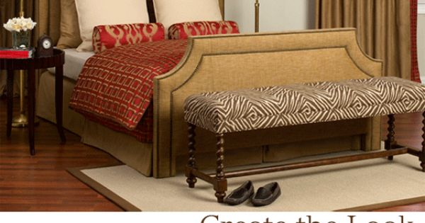 Calico Corners Custom Bedding Bench For The Home Pinterest Calico Corners Bench And