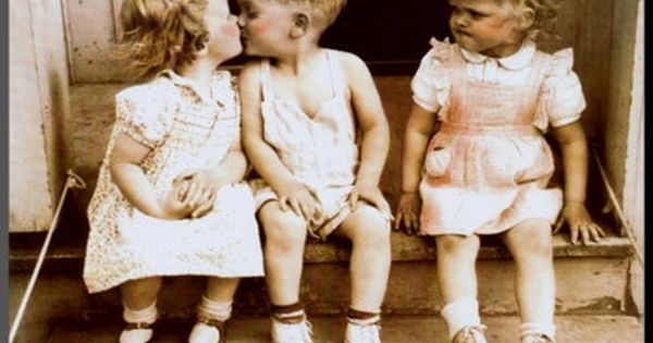 Image Result For Little Boy Kisses Girl Other Girl Mad Kids Kiss