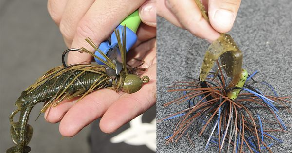Get more out of skirted jigs for bass fishing wired2fish for Wired 2 fish