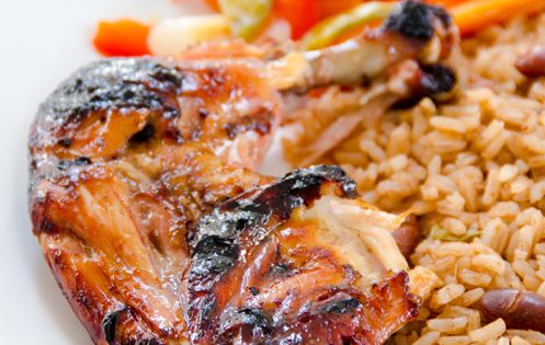 Easy Peasy Jamaican chicken